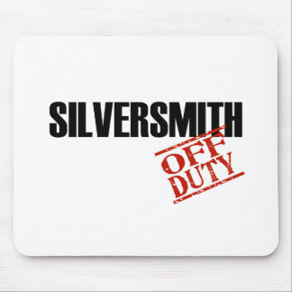 OFF DUTY SILVERSMITH LIGHT MOUSE PAD