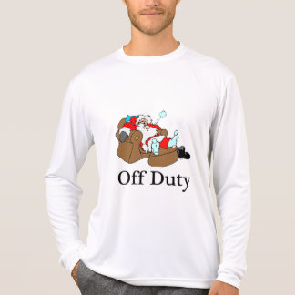 Off Duty (Sleeping Santa) T-Shirt