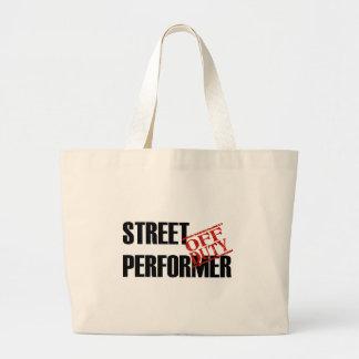 OFF DUTY STREET PERFORMER LIGHT CANVAS BAGS
