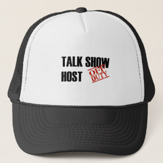 OFF DUTY TALK SHOW HOST LIGHT TRUCKER HAT