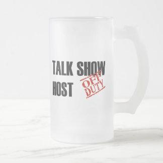 OFF DUTY TALK SHOW HOST MUGS