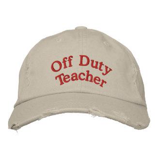 Off Duty Teacher Cap