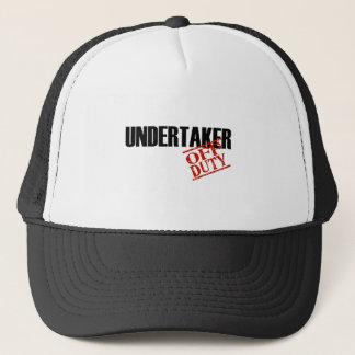 OFF DUTY UNDERTAKER LIGHT TRUCKER HAT