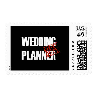 Off Duty Wedding Planner Stamps