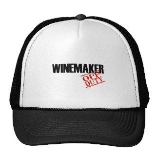 OFF DUTY WINEMAKER LIGHT MESH HATS