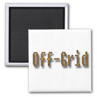 Off Grid Orange Magnet