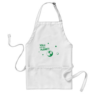 Off My Planet Adult Apron