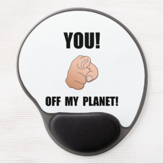 Off My Planet Gel Mouse Pad