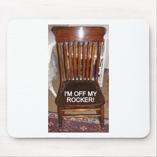 OFF MY ROCKER/THANK YOU/VERSIONS MOUSE PAD