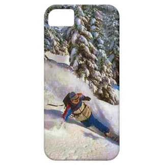 Off piste  the French alps iPhone SE/5/5s Case