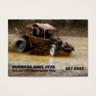 Off Road ATV Dune Buggy Mudding Business Card