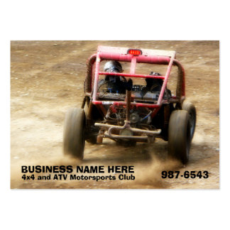 Off Road ATV Dune Buggy Mudding Business Card Templates