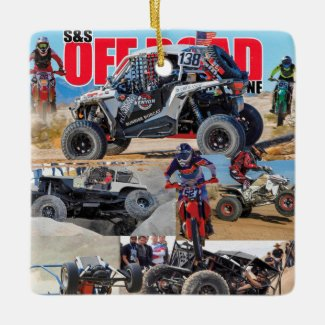 Off Road Christmas Ornament