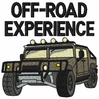 Off Road Experience Auto Embroidered Shirt