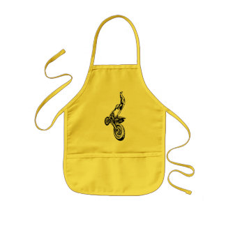 Off-Road Motorcycle Race Kids' Apron