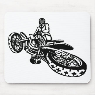 Off-Road Motorcycle Racer Mouse Pad