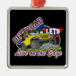 Off Road On The Edge Ornaments