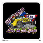 Off Road On The Edge Room Sticker