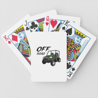 OFF ROAD BICYCLE PLAYING CARDS