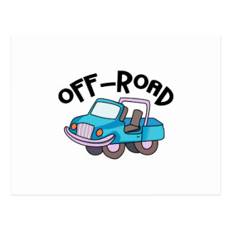 OFF ROAD POSTCARD