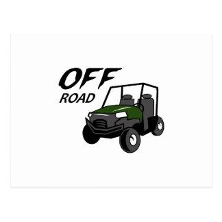 OFF ROAD POSTCARD