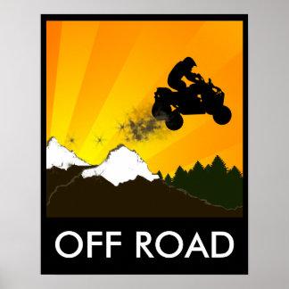 off road quads poster