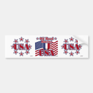 Off Road Racing USA Bumper Sticker
