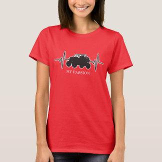 Off-Road Racing UTV - My Passion Heartbeat T-Shirt
