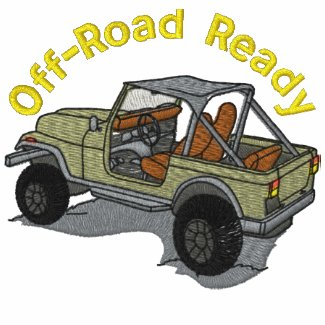 Off-Road Ready Auto Embroidered Shirt embroideredshirt