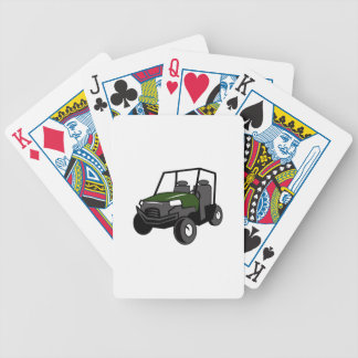 OFF ROAD VEHICLE BICYCLE PLAYING CARDS