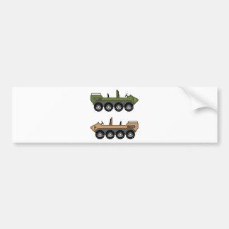 Off road Vehicle Utility Bumper Sticker