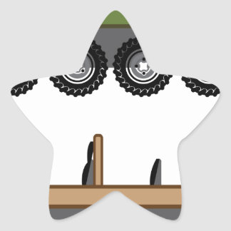 Off road Vehicle Utility Star Sticker