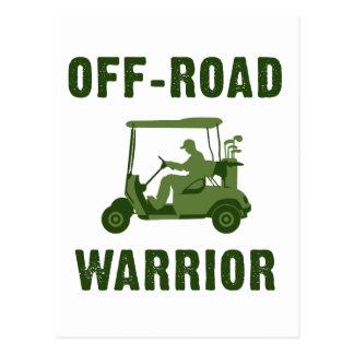 Off-Road Warrior Postcard