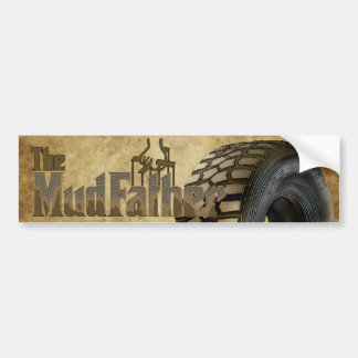 Off Roaders The MudFather Bumper Sticker