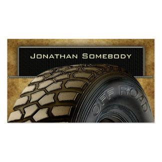 Off Roaders Tyre Business Card Template 14