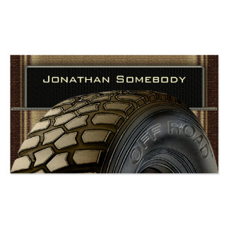 Off Roaders Tyre Business Card Template 15