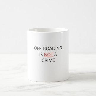 OFF-ROADING NO ES UN CRIMEN TAZA
