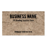 Off Roading Store Business Cards Custom