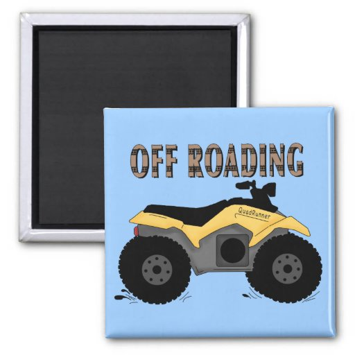 Off Roading Tshirts and Gifts 2 Inch Square Magnet