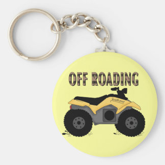 Off Roading Tshirts and Gifts Basic Round Button Keychain