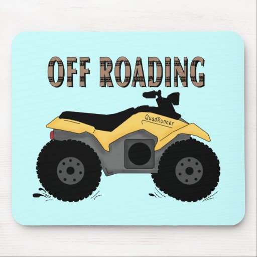Off Roading Tshirts and Gifts Mouse Pads
