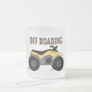 Off Roading Tshirts and Gifts 10 Oz Frosted Glass Coffee Mug