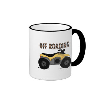 Off Roading Tshirts and Gifts Ringer Coffee Mug