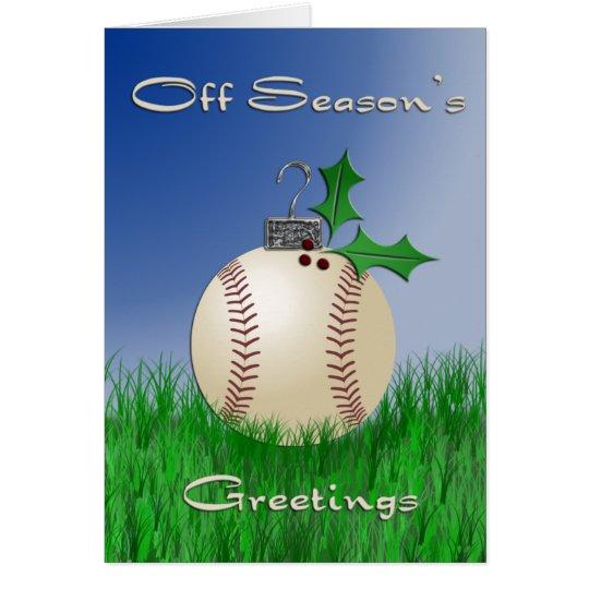 Off Season's Greetings Card