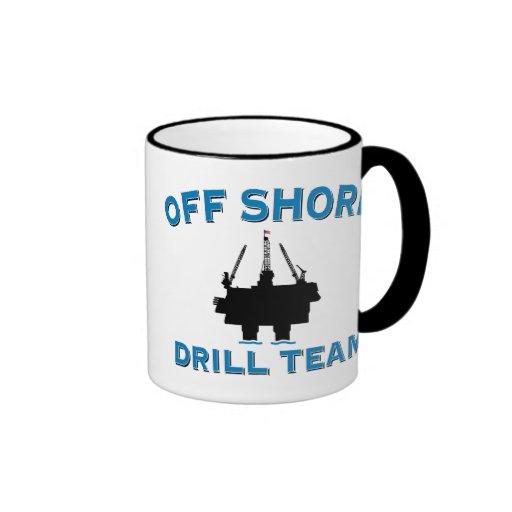 Off Shore Drill Team Ringer Mug
