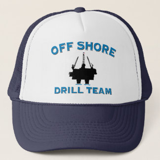 Off Shore Drill Team Trucker Hat