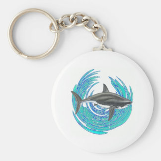 OFF SHORE GUARDIAN BASIC ROUND BUTTON KEYCHAIN