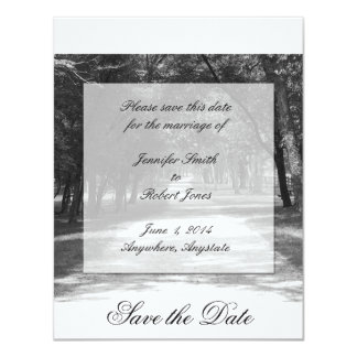 Off the Beaten Path Save the Date card Personalized Announcement