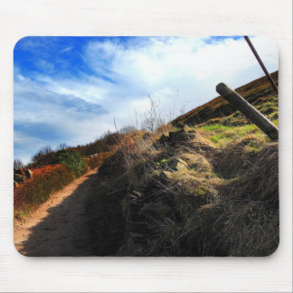 Off the beaten track mouse pad