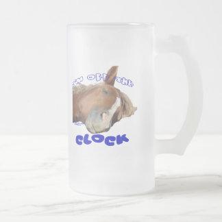 Off the Clock Lazy Horse Mug